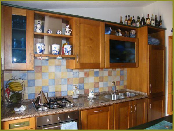 Strech - cucina in castagno