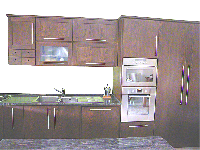 Constantine -  kitchen in chestnut