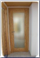 Vernis - Door in Ash wood and glass