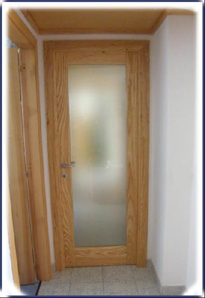 Vernis - porta in Frassino e vetro