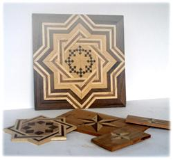Tecniques of wood inlay
